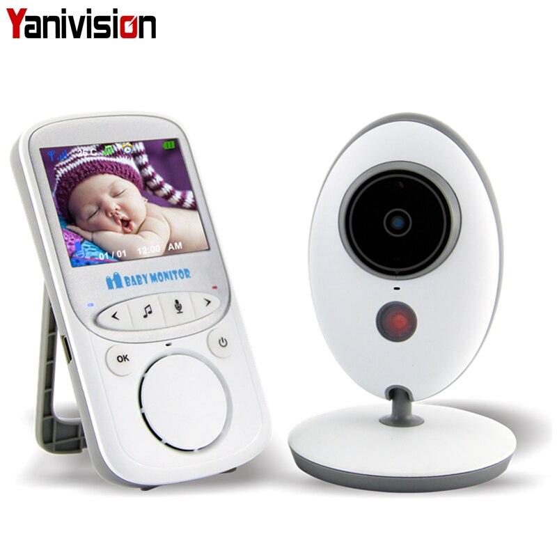 Wireless Baby Radio 24 hour Nanny Monitor LCD Audio Video Music Intercom IR