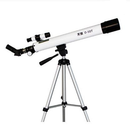 Refracting D-50T(600/50mm) Astronomical Telescope with Tripod HD Monocular Spotting Scope Telescope For Kids Gift kid s gift entry level astronomical telescope with tripod for children