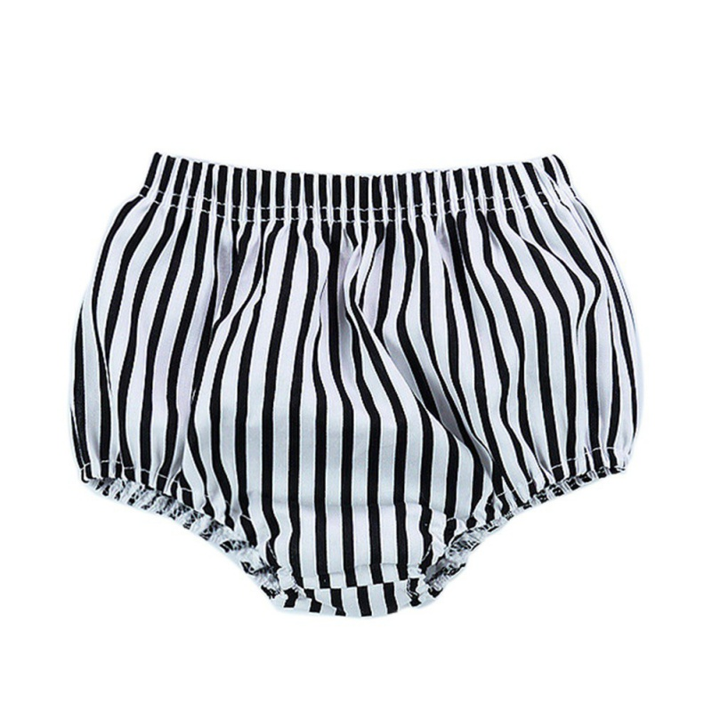New Infant Shorts Toddler Girls PP Striped Short Newborn Baby Clothing Bloomers Kids Harem Baby Boys Bread Pants