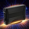 "Mini Aluminio Velocidad 5 Gbps 8 TB 3.5 ""SATA SSD HDD unidad de Disco Duro a USB 3.0 Adaptador Convertidor de Tarjeta de Caso Caja Caddy + Cable USB"
