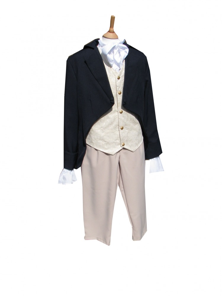 Men's Deluxe Regency Mr. Darcy Victorian Costume Size L/XL