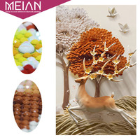Meian Special Shaped Diamond Embroidery Animal Deer Full 5D DIY Diamond Painting Cross Stitch 3D Diamond