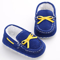 New Arrival 4 Colors Soft Bottom Cotton Baby Prewalker For Boys Girls First Walkers Newborn Moccasins Infant Toddler Shoes