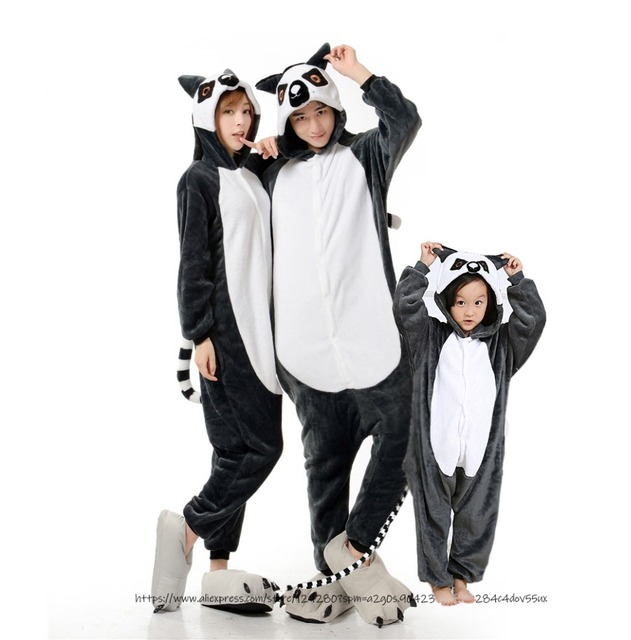 15a9f94d70 Spyro Lemur Pajamas Adult Kids Cosplay Costumes Family Onesies For Women Men  Dance Fancy Pajamas Xmas Party Children s Day Gift