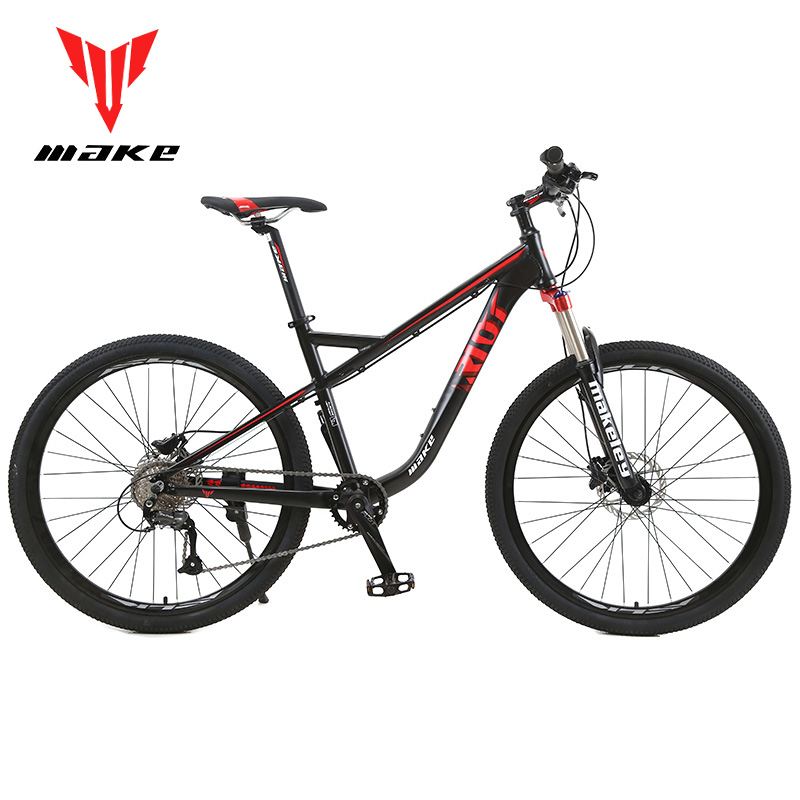 MAKE Mountain Bike Aluminum Frame Shimano 27 Speed 27,5
