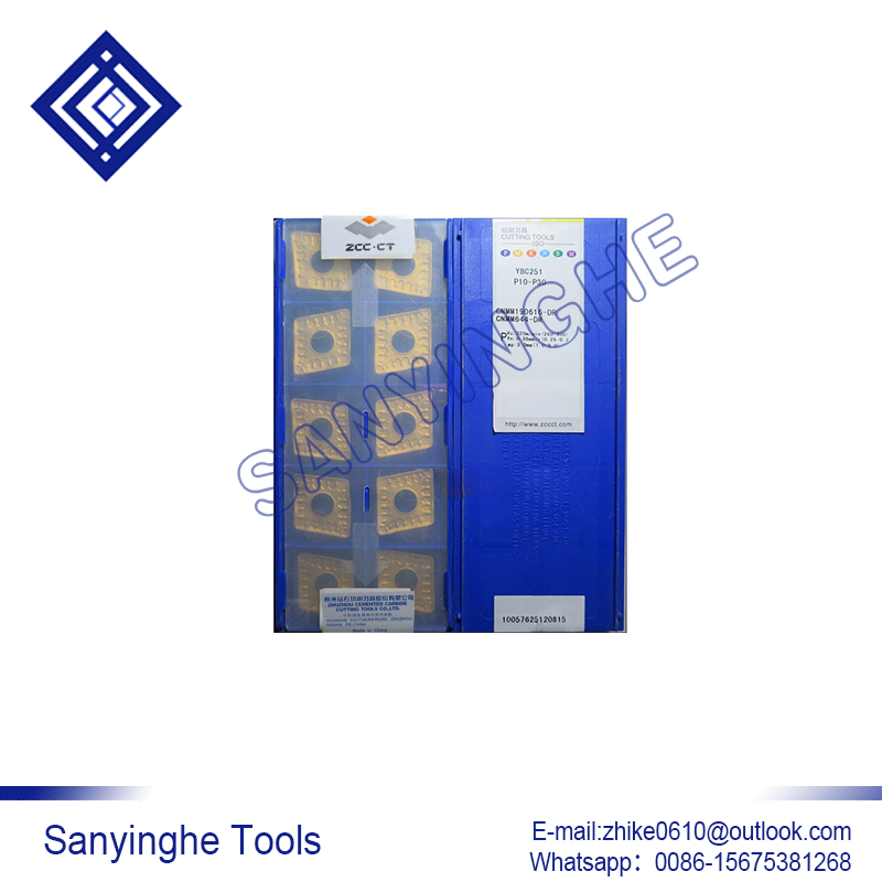 Free Shipping High Quality 10pcs/lots YBC251 CNMM190616-DR Cnc Carbide Turning Inserts