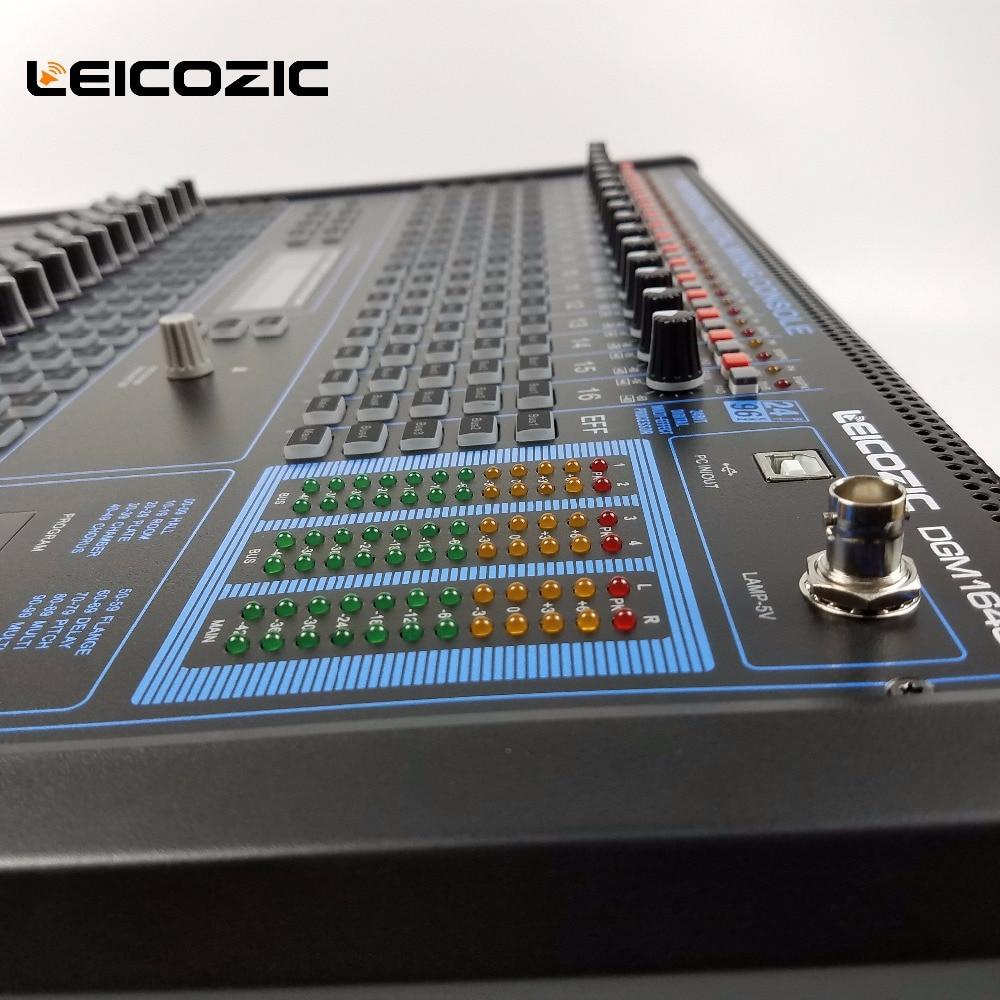 Leicozic 16 Kanal Digital Audio Mixer 19