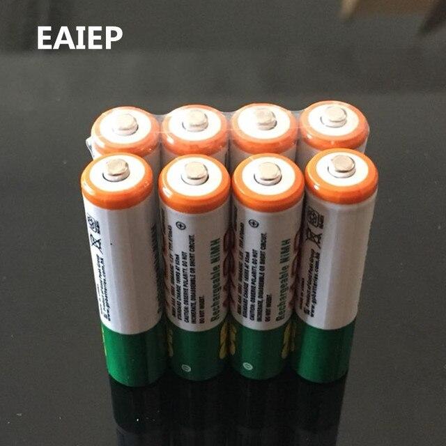 2019 горячая Распродажа EAIEP 1,2 в для GP Новый 1100 мАч Ni-MH AAA игрушка фонарик дистанционное управление; Электроника продукт перезаряжаемый аккумулятор