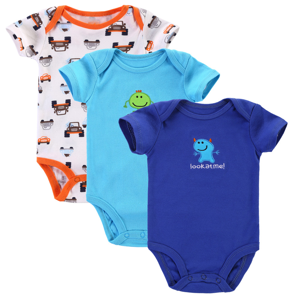3pcs Lot Baby Romper Newborn Baby Boy Girl Clothes Infant Clothing Next Cute Baby Body One Piece Products Romper For Babies Baby Rompers Newborn Baby Rompersromper For Baby Aliexpress