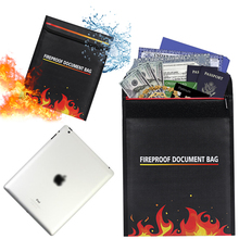 New fashion notebook tablet bag, fireproof Document Bag, Document Bag for Cash, Passports, Document, Jewelry, Photos, Valuables.