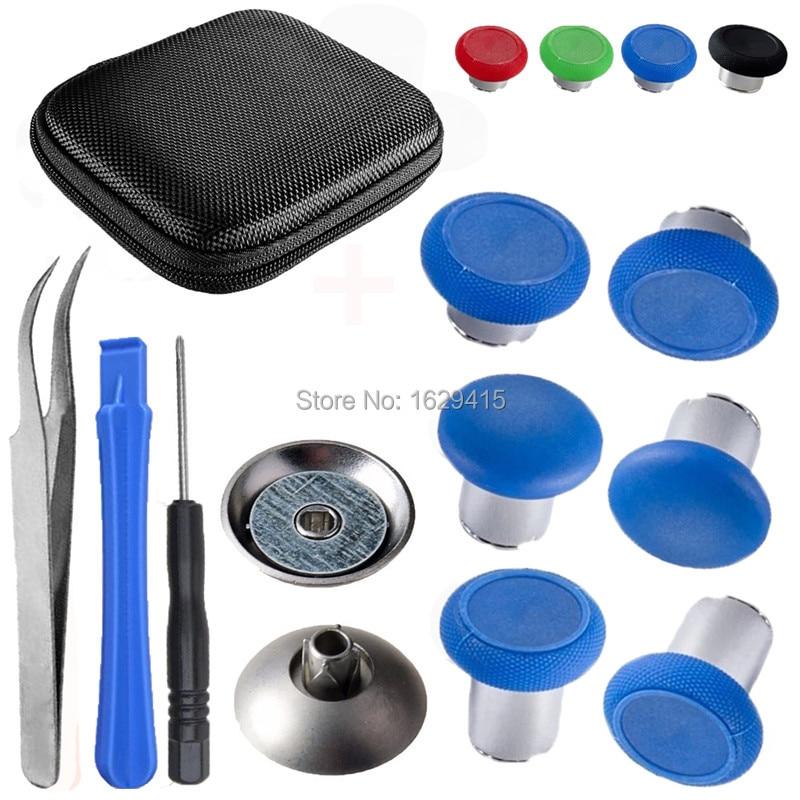 IVYUEEN Magnetic Thumbsticks Grips For Dualshock 4 PS4 Pro Controller Swap Analog Stick Kit For Playstation 4 Slim Gamepad