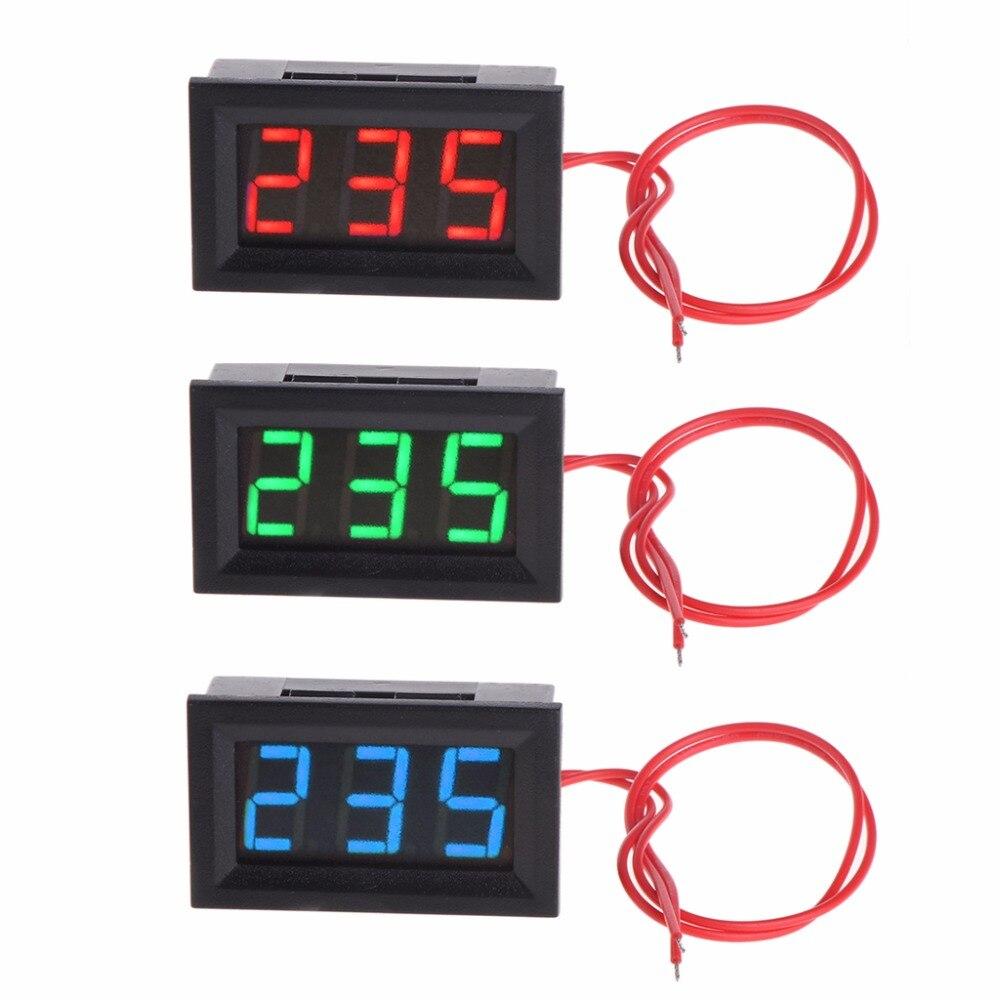 Frugal 2 Wire 0.56 Ac 30v-500v Led Digital Voltmeter Voltage Meter Monitor Tester For 110v 220v 380v Tools