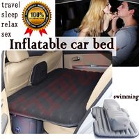 Hot Sale Car Back Seat Cover Car Air Mattress Outdoor Travel Bed Inflatable Mattress Air Bed