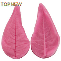 2pcs leaf shape silicone soap mold,Fondant Cake Decorating styling Tools, bakeware,cooking tools kitchen accessories 2300