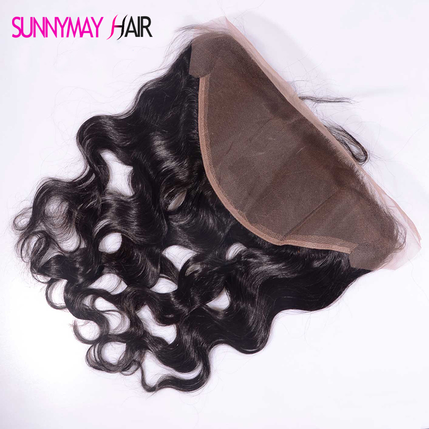 Best Quality 8 A Grade 13x6 Lace Frontal Brazilian Virgin Hair Lace Frontal Closure Body Wave Swiss Lace Frontal Free Shipping