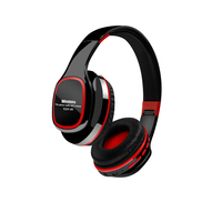 GiGiboom Portable Wireless Bluetooth Headphone mp3 player Foldable Stereo Headset with Mic FM radio Support Micro SD TF Card