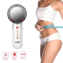 Ultrasonic Cavitation EMS Body Slimming Massager Infrared Th