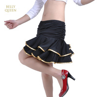2018 New Lady Latin Dance Skirt For Womens Adjustable Styles Latin Dance Dress Competition Practice Dancewear
