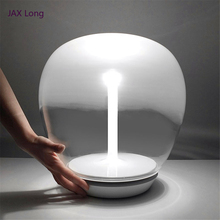 Modern Simple Bedroom Table Lamp LED Lights Lighting Indoor Decorations Desk Lamps Living Room Touch Switch