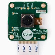 5 메가 픽셀 센서가 장착 된 1 pcs x 산호 카메라 모듈은 24 핀 ffc 장착 된 산호 dev 보드의 mipi csi 인터페이스에 부착됩니다.
