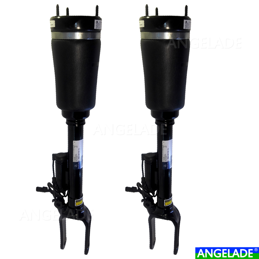 Pair Front L+R Air Suspension Shock Absorber Merce-Benz M Class W164 2005-2011 <font><b>GL</b></font> Class <font><b>X164</b></font> 2006-2012 ADS 1643206013 1643205813 image