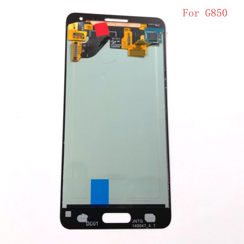 <font><b>For</b></font> <font><b>Samsung</b></font> <font><b>Galaxy</b></font> <font><b>Alpha</b></font> <font><b>G850</b></font> G850F G850Y <font><b>Lcd</b></font> Screen+display+Touch Glass Assembly Replacement Amoled image