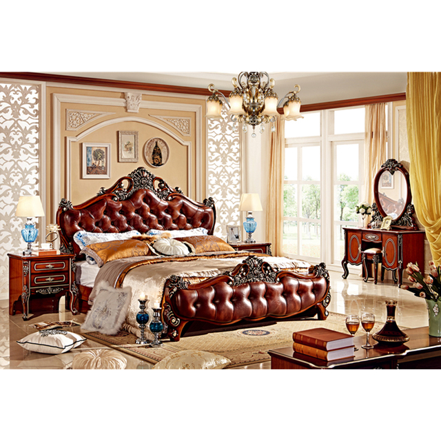 Clic Luxury Royal Bedroom Furniture Set