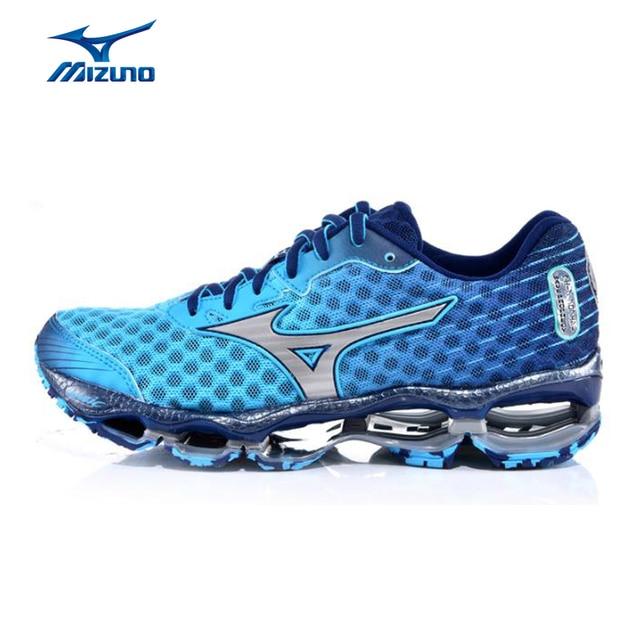 0d6a24388 Mulheres MIZUNO PROFECIA 4 Peso Leve Respirável Amortecimento Tênis Sapatilhas  Sapatos de Desporto Profissional Sapatos J1GD150005