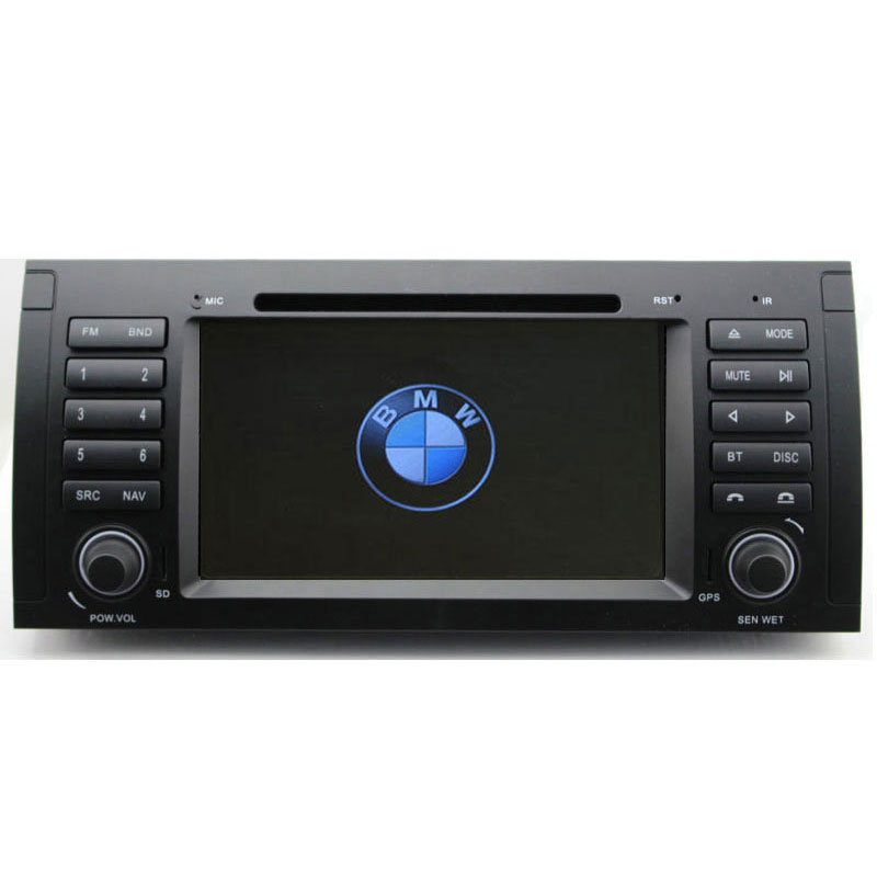 7 39 39 car multimedia system for bmw 5 series 520i 525 535i. Black Bedroom Furniture Sets. Home Design Ideas