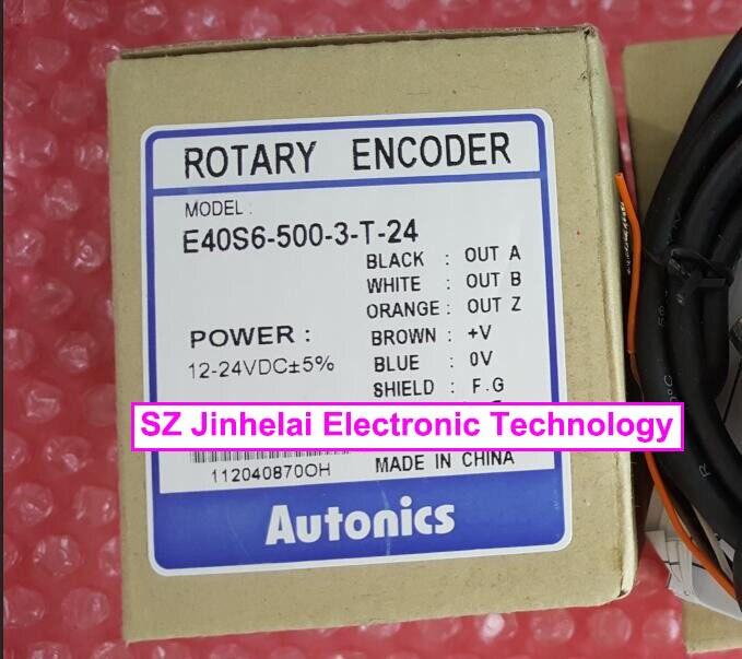 E40S6-500-3-T-24  New and original AUTONICS Encoder
