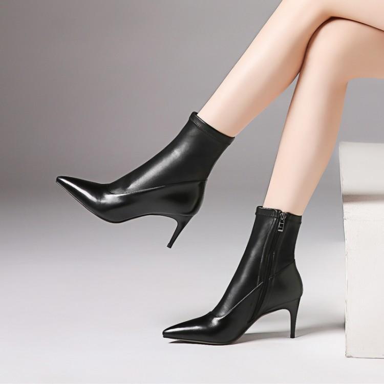 Stivale alla Caviglia SHOW in Pelle