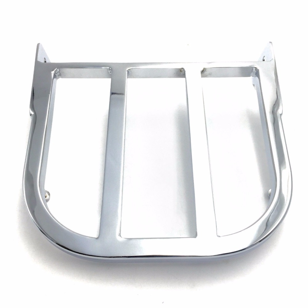 Motorcycle Chrome Sissy Bar Luggage Rack Support For 1997-2007 Suzuki Marauder VZ800/ 2012-2013 Boulevard C50/C90 for suzuki intruder 1400 1500 lc boulevard s83 c90 marauder 800 wing motorcycle foot pegs motorcycle part