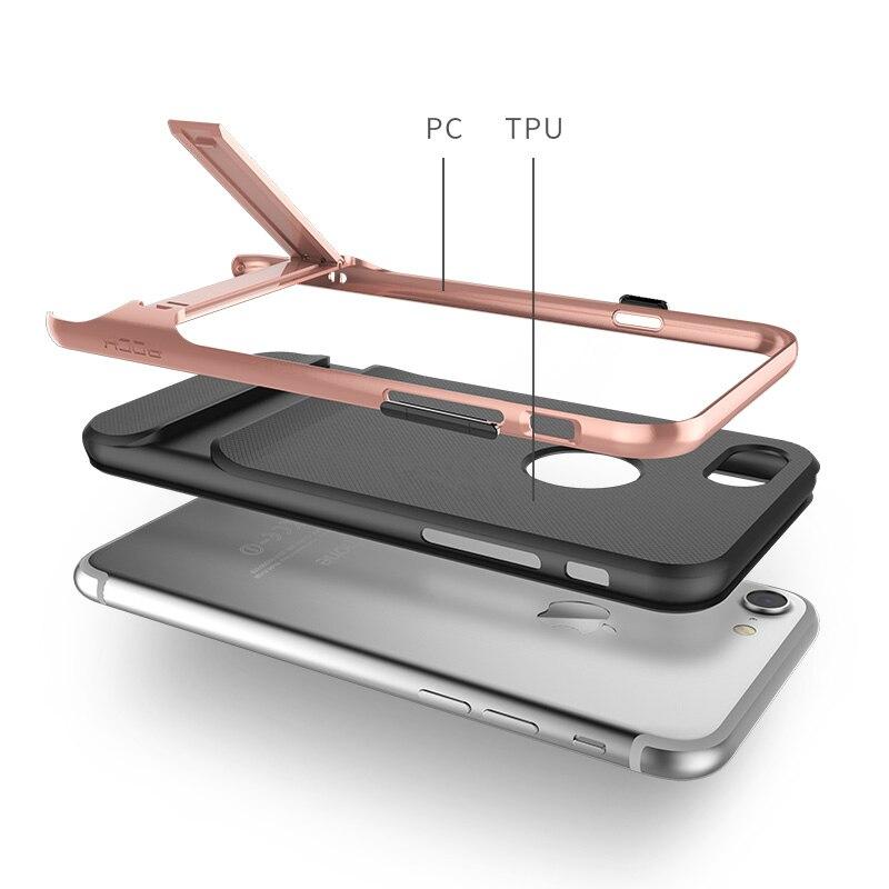 Rock för iPhone 7 7 plus telefonfodral royce Kickstand hållare - Reservdelar och tillbehör för mobiltelefoner - Foto 2