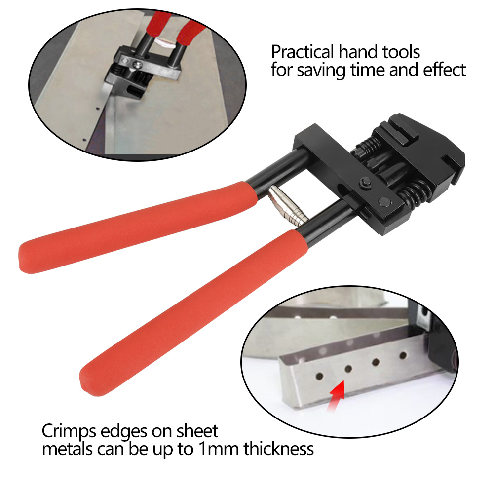 2 in 1 Carbon Steel Edge Setter Joggler Punching Pliers Tool