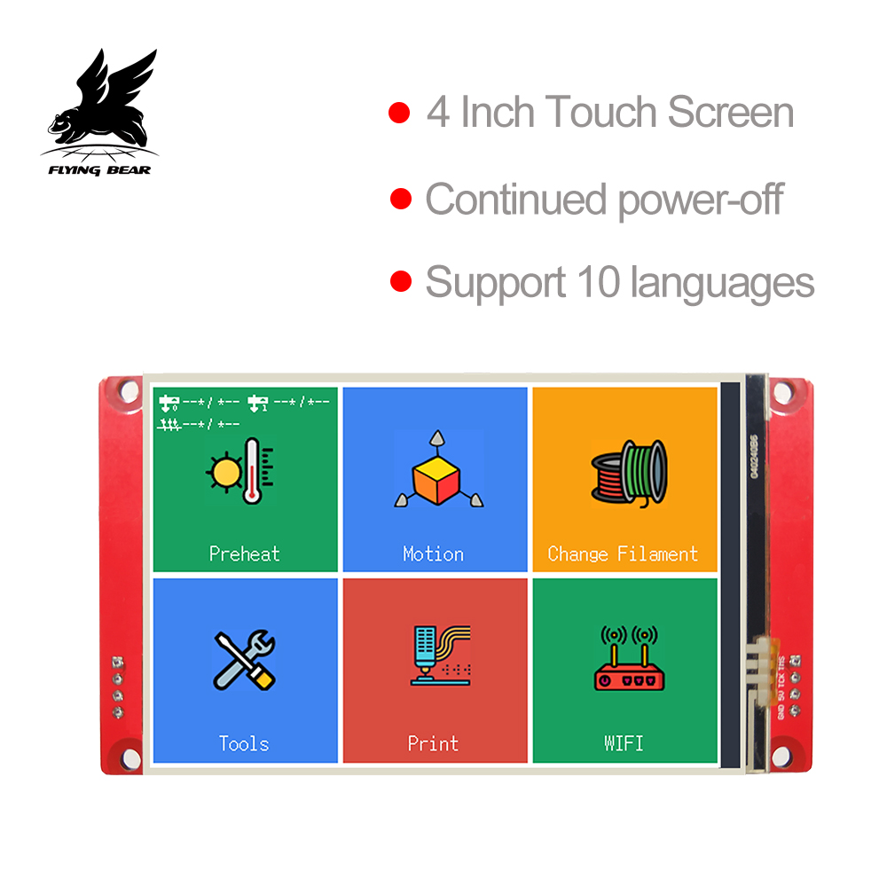 Flyingbear 3D Printer Parts TS40 Smart Controller Display 4 0 Touch Screen Support Marlin Repetier