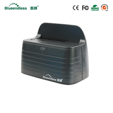 "(Корабль из ru) HDD док-станция для HDD Box 3.5 чехол SATA USB3.0 HDD пластиковая коробка 2.5 ""внешний HDD корпус с USB кабель ЕС разъем"