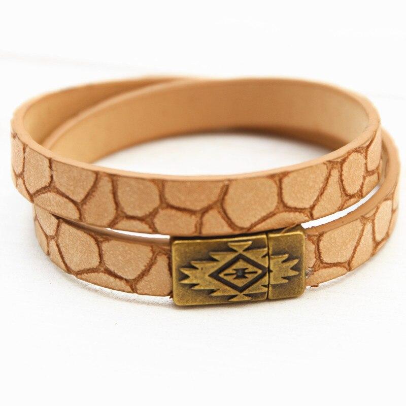 Dongmu jewllery новый кожаный браслет ручной работы коричневый Интимные аксессуары для Для женщин сосать HASP контракт и модной девушки Рождество ...