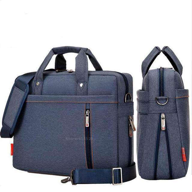 Burnur antichoc airbag sac étanche pour ordinateur portable 12 13 14 15 15.6 17 17.3 pouces grande taille ordinateur sacs étui Messenger sac à bandoulière