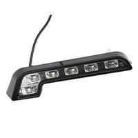 White Bright 2 Pcs 6 LED 12v Car Driving Lamp Fog DRL Daytime Running Lights Conveninence