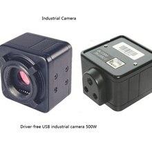 HD микроскоп USB 5 миллионов мегапиксельная промышленная камера Микроскопическое программное обеспечение для измерения SDK микроскоп камера