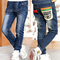 2017 Barnd Children Clothes Toddler Jeans Denim Trousers Kids Pants Children Print Long Pants 4-9-12 Years Boys Clothing Baby