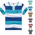 High Quality Breathable Boys T Shirt Name Brand children clothing Kids Fashion Clothes Short Sleeve Cotton Summer Girls T-Shirts