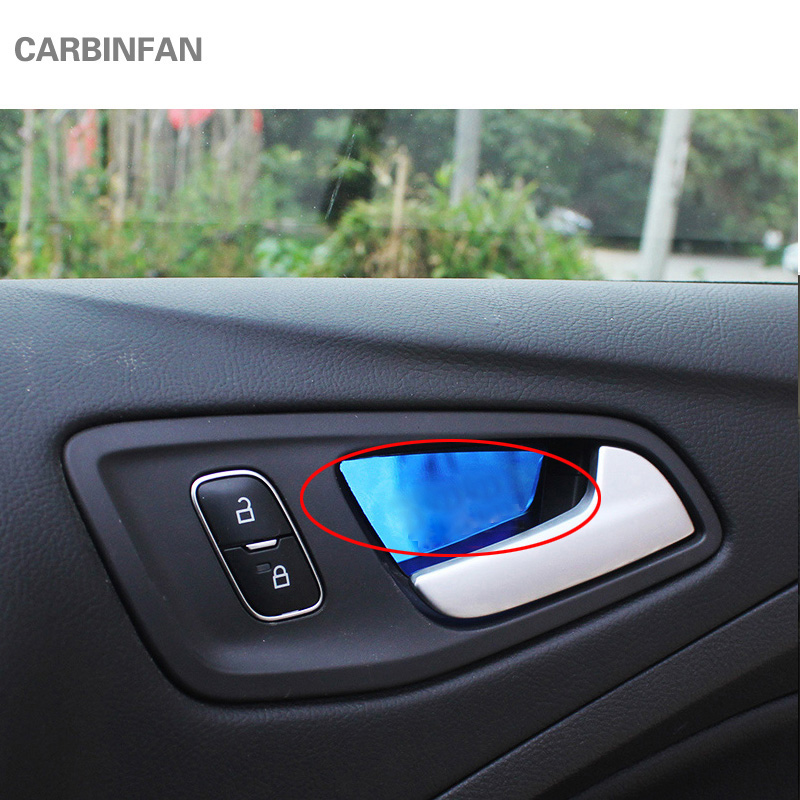 Inner door bowl sticker for ford escape kuga 2013 2017 car - 2013 ford escape interior door handle ...