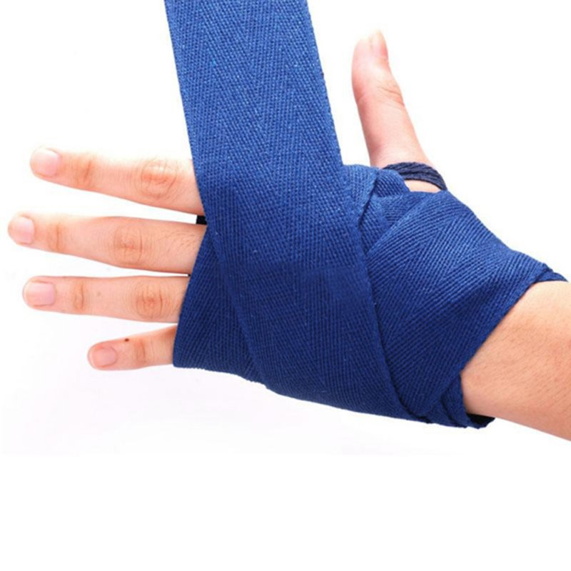 2PCS <font><b>Boxing</b></font> <font><b>Gloves</b></font> Handwraps Bandage Punching Hand <font><b>Wrap</b></font> <font><b>Boxing</b></font> Training <font><b>Gloves</b></font> Safe Tool Portable Bandaged 5 colors image