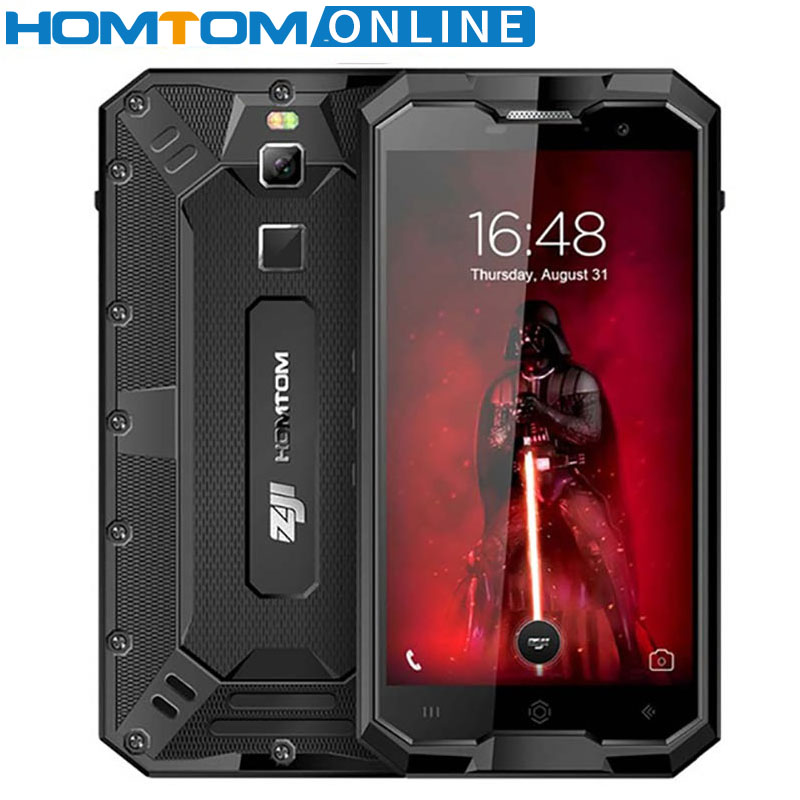 HOMTOM зоджи Z8 IP68 Водонепроницаемый 4 ГБ 64 ГБ смартфон MTK6750 Octa Core 5,0 дюймов Android 7,0 4250 мАч 13MP отпечатков пальцев телефона
