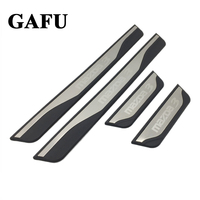 For Mazda 3 Axela 2014 2015 2016 2017 2018 Accessories Door Sill Scuff Plate Guards Door Sills Protector car styling 4pcs