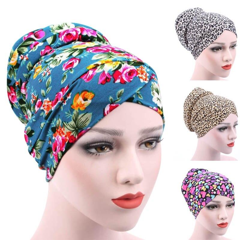 Women's Lady Girl Headscarf Caps Hat Muslim Hijab Underscarf Headwear Cotton Fashion AIC88