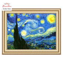Moonligh Golden stitch,kits,11ct Embroidery