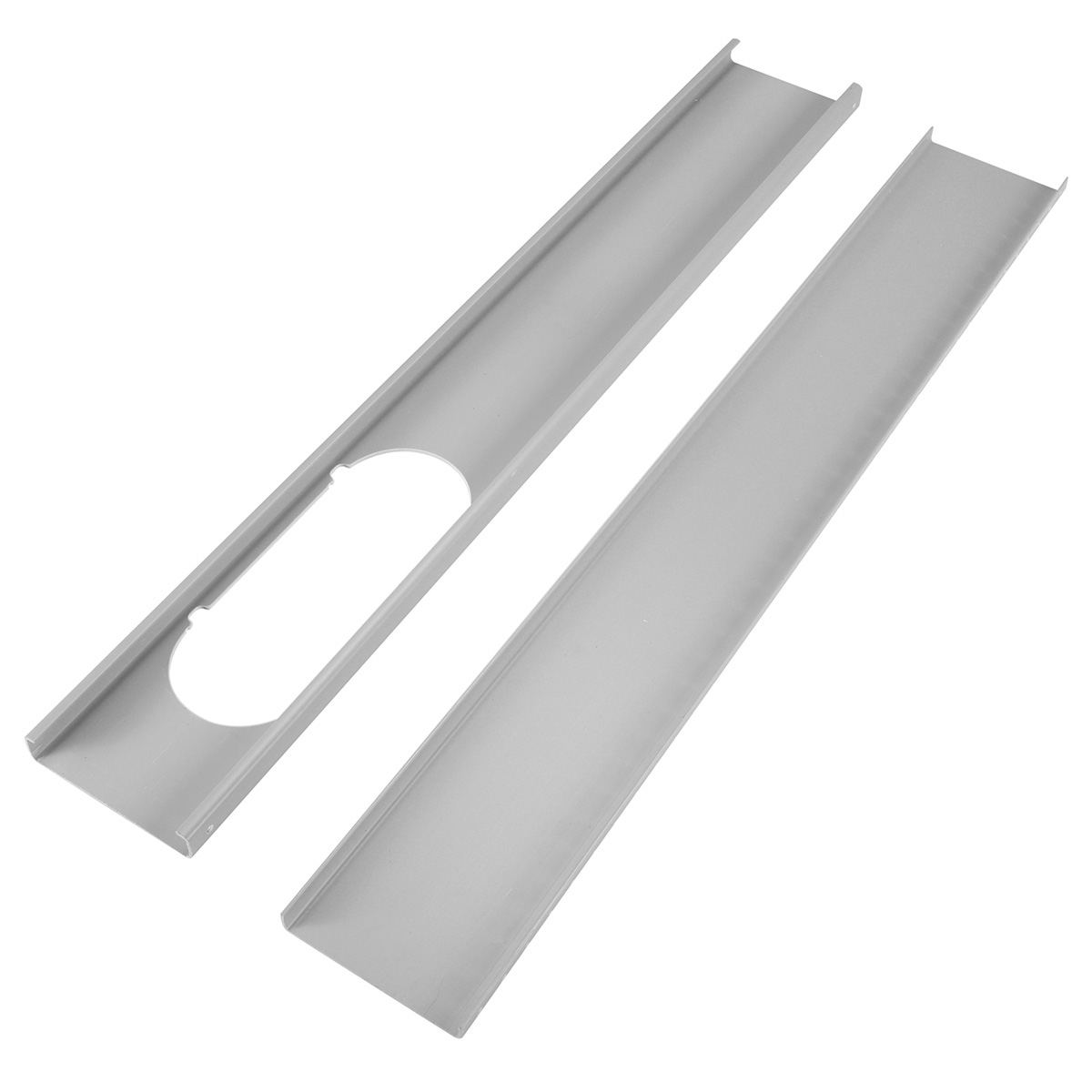2x Adjustable Window Slide Kit Plate Spare Parts For Portable Air Conditioner air conditioner spare parts plastic mould for home appliance