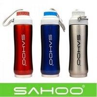 350 ml SAHOO Bycicle אופני ספורט נירוסטה בקבוק מים חיצוני ספורט בקבוק מים 500 ml בקבוק ריק 52263